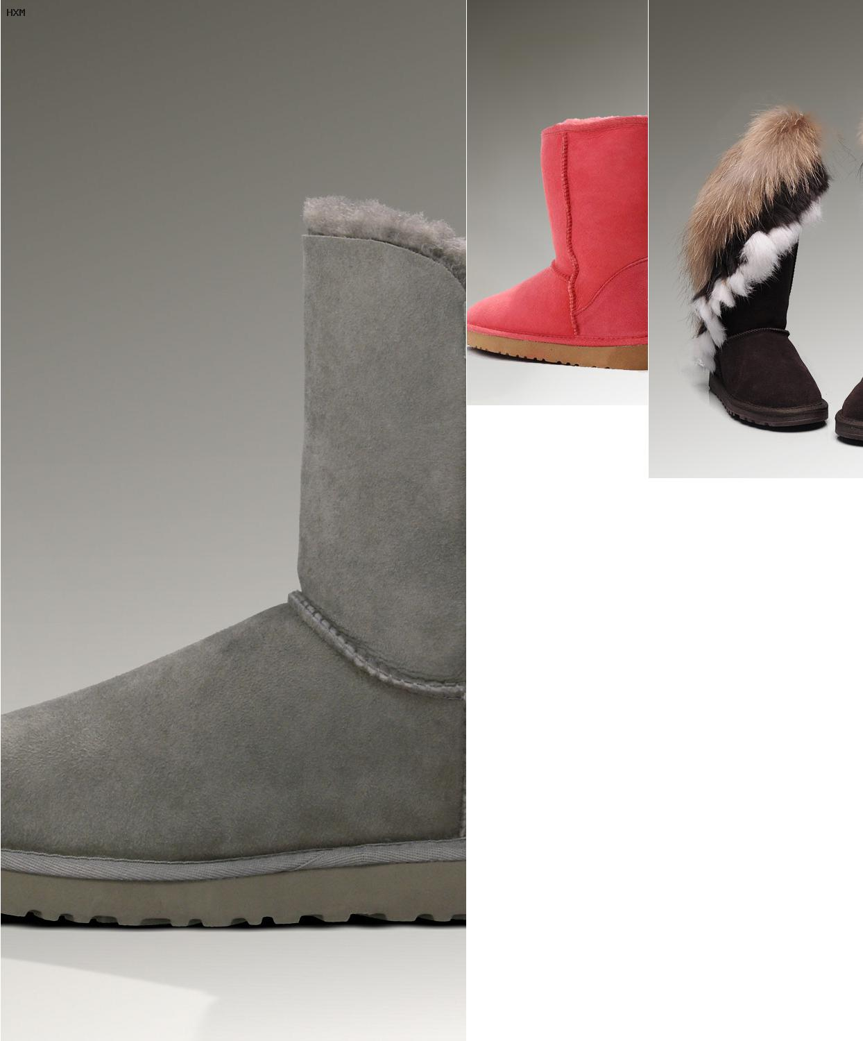 ugg maattabel kind